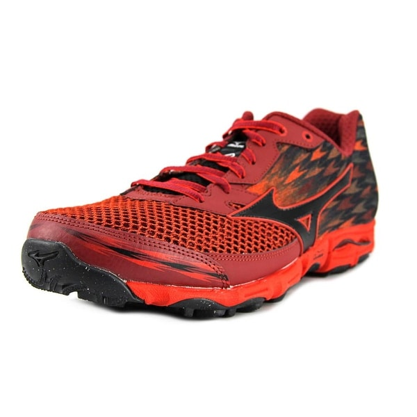 Mizuno Wave Hayate 2 Men Round Toe Synthetic Multi Color Running Shoe