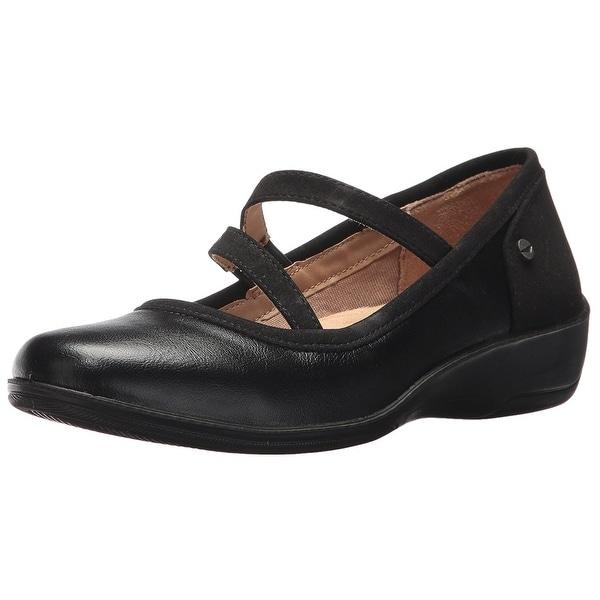 LifeStride Womens Indira Closed Toe Casual Platform Sandals
