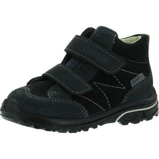 Ricosta Boys Lenzi Waterproof All Weather Boots - Navy