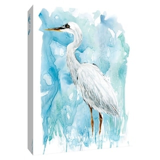 "PTM Images 9-148667  PTM Canvas Collection 10"" x 8"" - ""Summer Sentinel II"" Giclee Birds Art Print on Canvas"