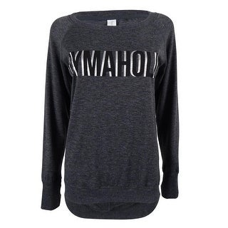 Ideology Women's Cut Out Back Sweater Top