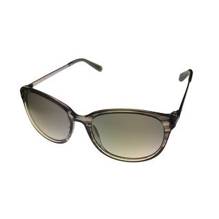 Kenneth Cole New York Mens Sunglass Modified Round Black, Smoke Lens KC7006 98F - Medium
