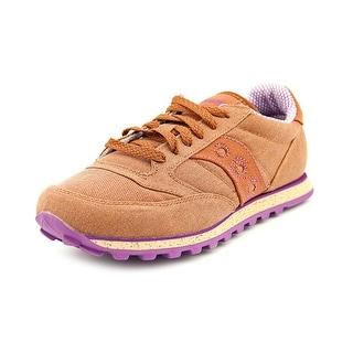 Saucony Jazz Low Pro Vegan Round Toe Synthetic Sneakers