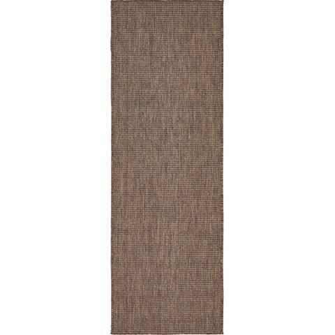 Unique Loom Outdoor Solid Transitional Area Rug