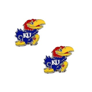 Kansas Jayhawks Post Stud Earring NCAA Charm Set