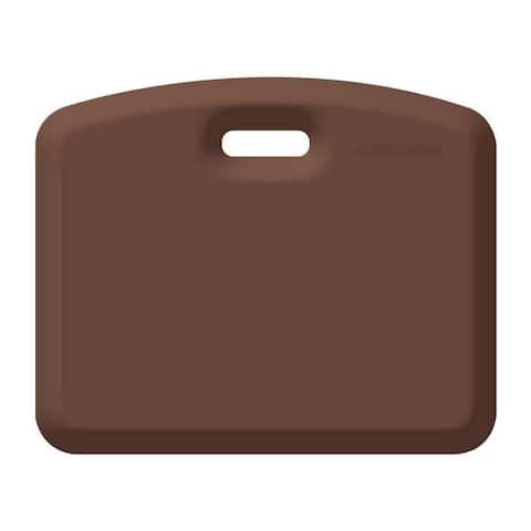 WellnessMats Anti-Fatigue Kitchen/Gardening Companion Mat, 18 Inch by 22 Inch, Brown