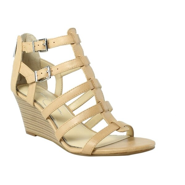 31921ca597785 Shop Jessica Simpson JS-SHALON-271 Tan Platform & Wedges Womens Heels Size  6 New - Free Shipping On Orders Over $45 - Overstock - 26281338