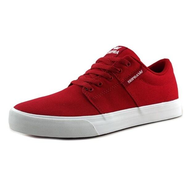 Supra Stacks Vulc II Men Red-Wht Skateboarding Shoes