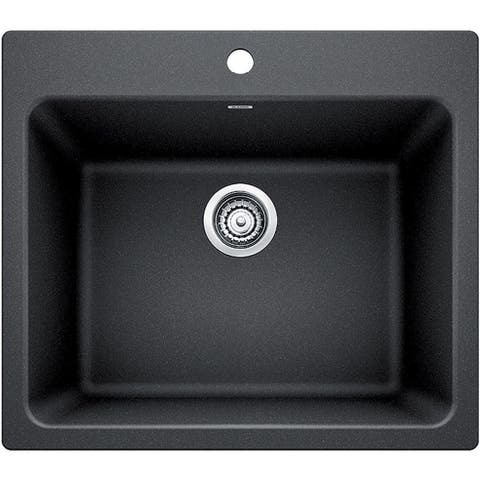 """Blanco 401920 Liven 25"""" Drop-In or Undermount Laundry Sink"""