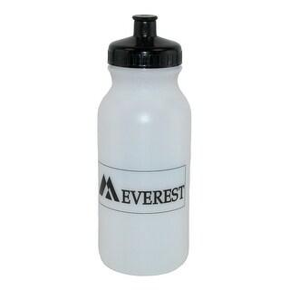Everest Plastic 20 oz Squeeze Sport Water Bottle