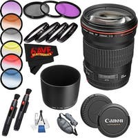 Canon EF 135mm f/2L USM Lens International Version (No Warranty) Professional Accessory Combo