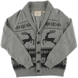 Weatherproof Vintage Mens Button Front Casual Cardigan Sweater