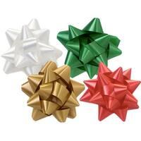 "Christmas Assortment Star Bows 2-1/2"" Bows"