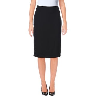 Anne Klein Womens Pencil Skirt Wool Blend Knee-Length