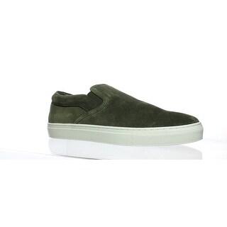 J/slides Mens Dimmi Khaki Suede Loafers Size 11
