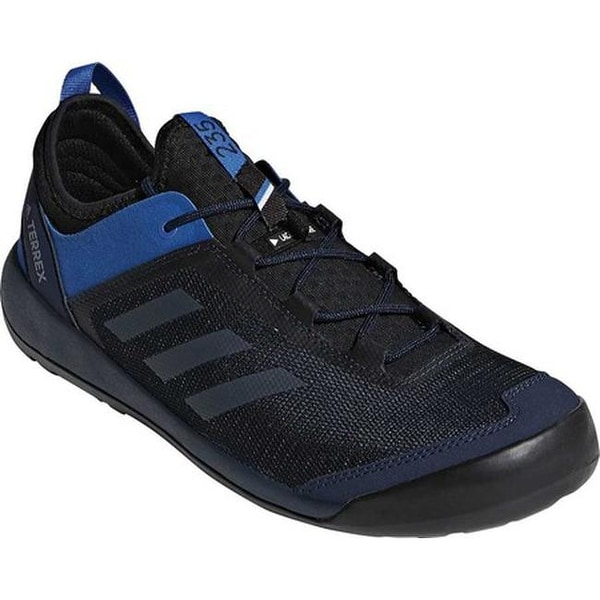 1dd9160894501 adidas Men  x27 s Terrex Swift Solo Hiking Shoe Collegiate Navy Grey Three