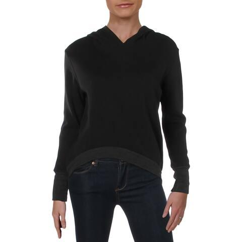 Nation LTD Womens Caroline Hoodie Cotton Sweatshirt