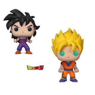 Funko Pop! Animation Dragon Ball Z - Super Saiyan Goku and Gohan (Training Outfit) (2 Items)