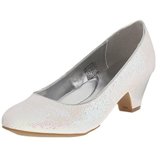 Kenneth Cole Reaction Girls Dorothy Shine Round Toe Man Made Pumps