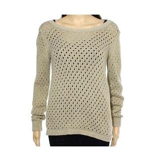 MICHAEL Michael Kors NEW Gray Women's Size Small S Scoop Neck Sweater