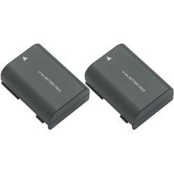 Replacement NB-2L 2400mAh Battery for Canon BLI-204 / NB-2L / BP-2L18 Battery Models (2 Pack)