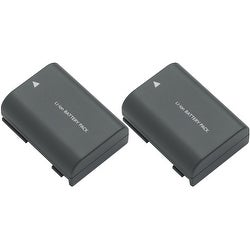 Replacement NB-2L 2400mAh Battery for Canon DC310 / MD160 / OPTURA 40 Camera Models (2 Pack)