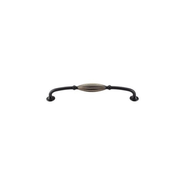 Top Knobs M467 Tuscany 8-13/16 Inch Center to Center Handle Cabinet Pull - dark antique brass