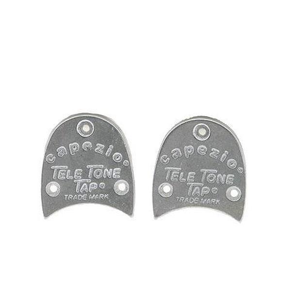 Capezio Unisex Tele Tone Heel Taps, Silver, One