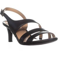naturalizer Taimi Comfort Dress Sandals, Black Leather