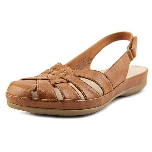 Kim Rogers Jayla Women Round Toe Synthetic Brown Slingback Sandal