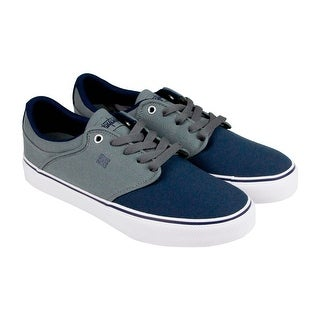 DC Mikey Taylor Vulc Tx Mens Grey Textile Lace Up Sneakers Shoes
