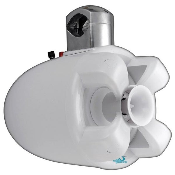 "Boss Marine 8"" 2-Way Wake Tower Speaker(Sold each) 700W White"