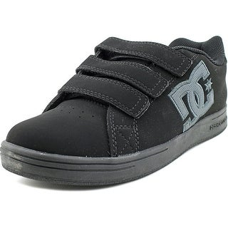 DC Shoes Character V Youth Round Toe Leather Skate Shoe