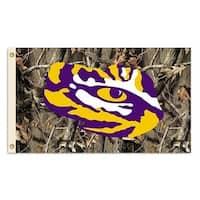 LSU Tigers Camo Flag