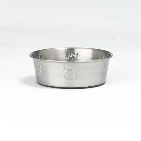 PetRageous Designs 60047 Cayman Classic Stainless Steel Non-Skid Bowl, 2-Cup
