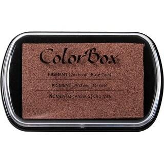 Colorbox Metallic Pigment Ink Pad-Rose Gold