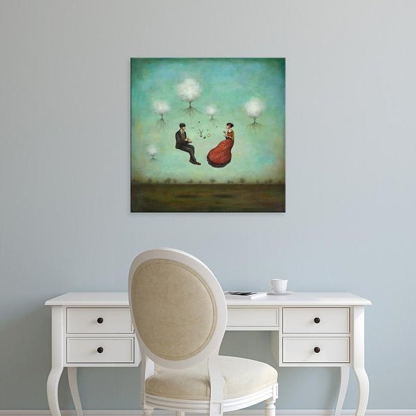 Easy Art Prints Duy Huynh's 'Gravitea For Two' Premium Canvas Art