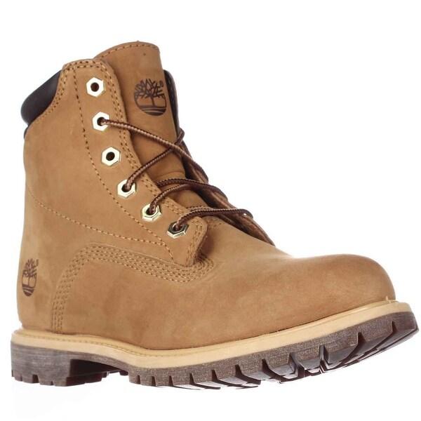Timberland Watrvle Waterproof Ankle Boots, Wheat