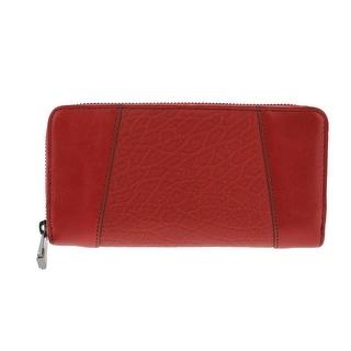 Kooba Womens Leather Zip Around Clutch Wallet