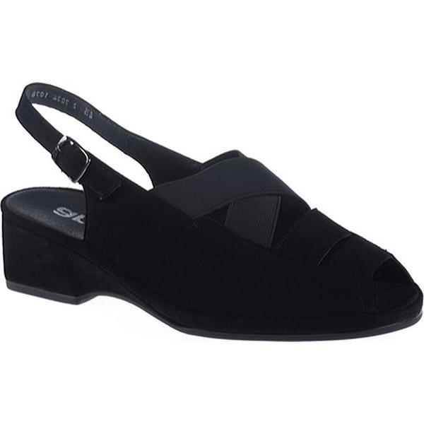 27aa6be3e81 Shop ara Women s Rumor 37034 Black Suede - Free Shipping Today -  Overstock.com - 7330662