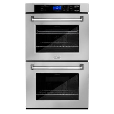ZLINE Stainless Steel Professional Double Wall 30-inch Oven (AWD-30)