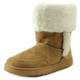 Rampage Girls Lil Ashlee Round Toe Canvas Winter Boot