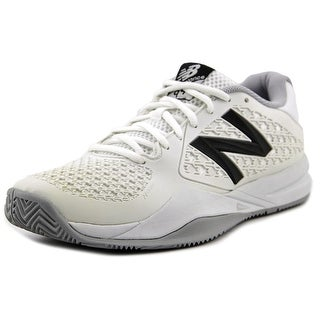 New Balance WC996 Women D Round Toe Synthetic Tennis Shoe