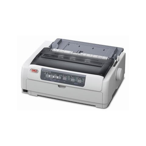 Okidata 62433801 ml620 - monochrome - dot-matrix - 9-pin printerhead - impact printer - 700 cps - White