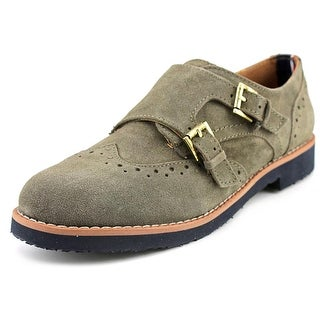 Tommy Hilfiger Dilanee Women Round Toe Suede Green Oxford