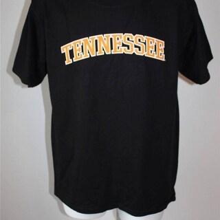 Tennessee Volunteers Mens Adult Sizes S M L XL 2XL Black T Shirt