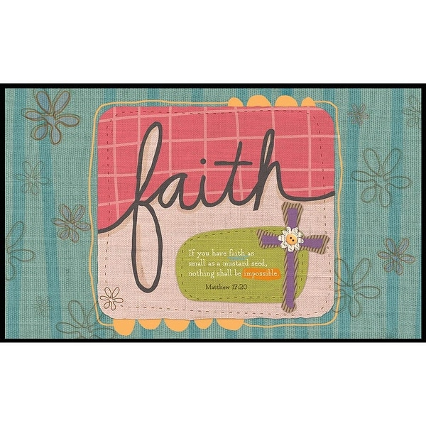 Sufficient Faith Doormat, by Lang Companies
