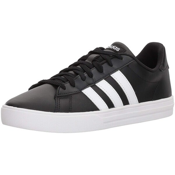 cf03f00f883d62 Shop Adidas Mens Daily 2.0 Canvas Low Top Lace Up Fashion Sneakers ...