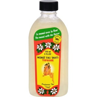 Monoi Coconut Oil - Frangipani Tipanie - Tiare Tahiti - 4 oz