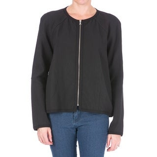Tanya Taylor Womens Lulu Jacket Textured Collarless - 8